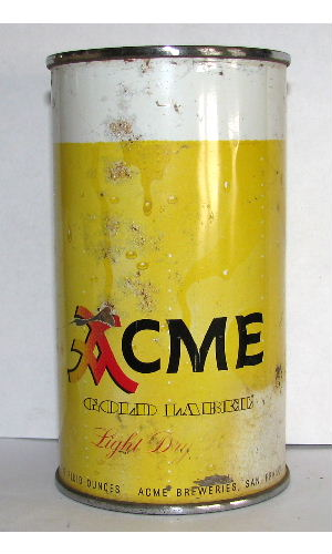 ACME GOLD LABEL Light Dry BEER