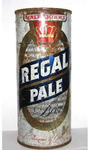 REGAL PALE BEER HALF QUART
