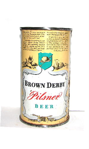 BROWN DERBY PILSNER BEER OI (Rainier)