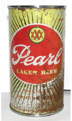 PEARL xxx LAGER BEER