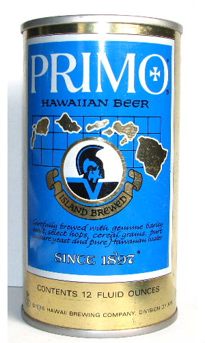 PRIMO HAWAIIAN BEER