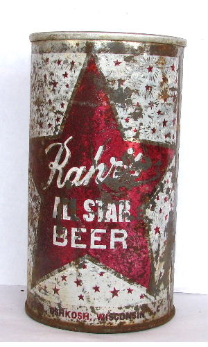 RAHR'S ALL STAR BEER