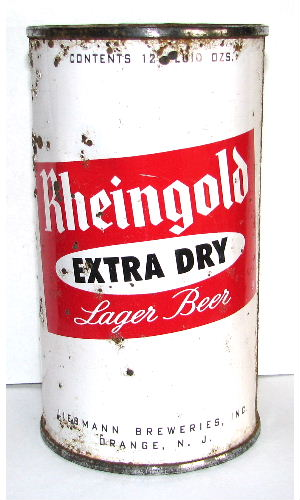RHEINGOLD EXTRA DRY LAGER BEER 1