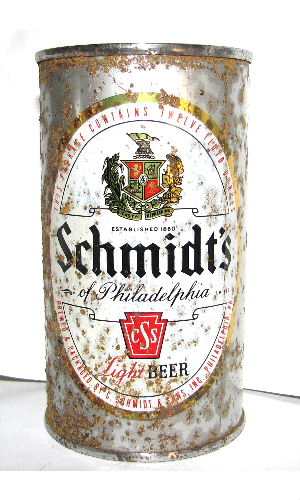 SCHMIDT'S OF PHILADELPHIA LIGHT BEER