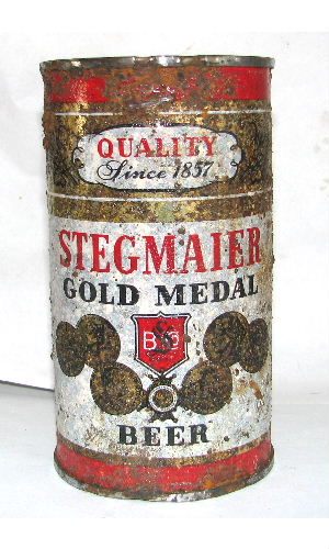 STEGMAIER GOLD MEDAL BEER SINCE 1857