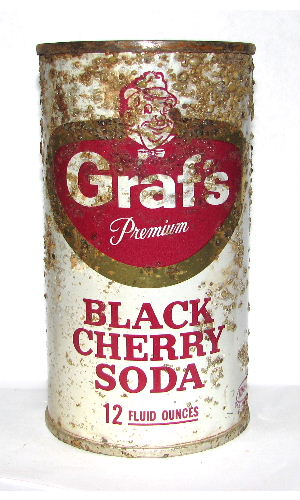 GRAF'S BLACK CHERRY SODA