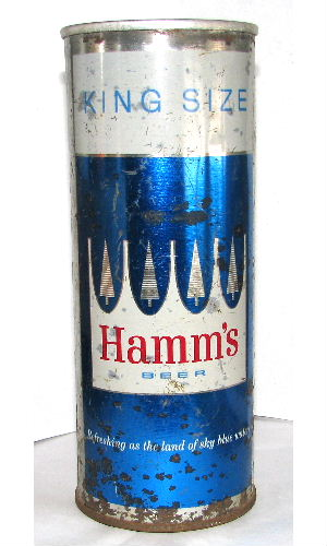 HAMMS BEER KING SIZE